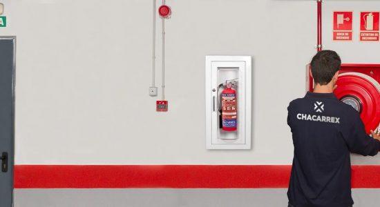 Expertos en protección contra incendios en Madrid - Chacarrex