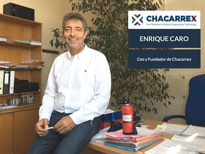 Enrique Caro CEO y Fundador de Chacarrex