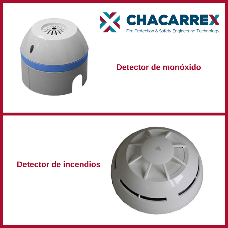 Diferencia entre detector de monóxido y detector de incendios