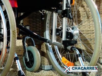 Silla de ruedas movilidad residencias de mayores