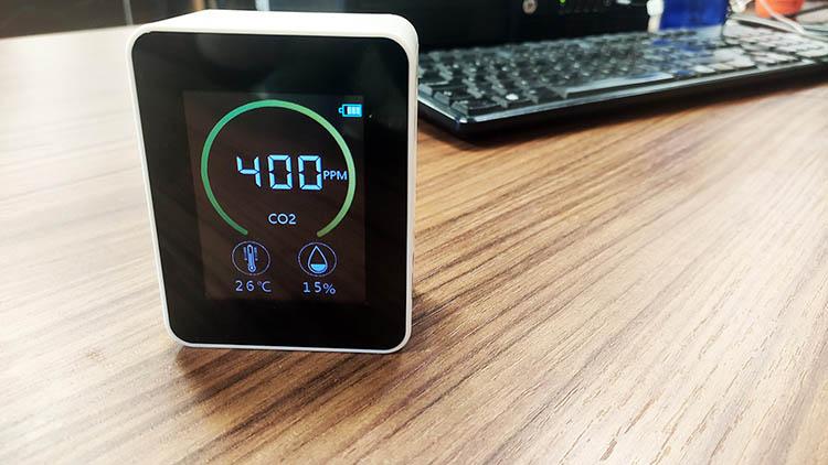 Medidor CO2 Covid