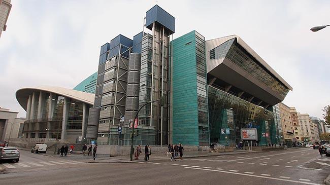Palacio de los Deportes de Madrid actual
