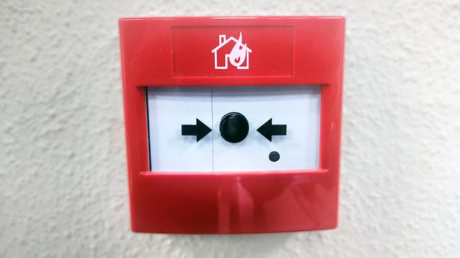 Alarma contra incendios detector